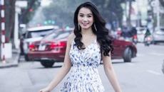 Lương Giang xinh tươi xuống phố