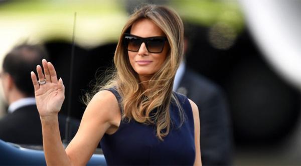 Bà Trump không đi cùng chồng tới nghe thông điệp liên bang