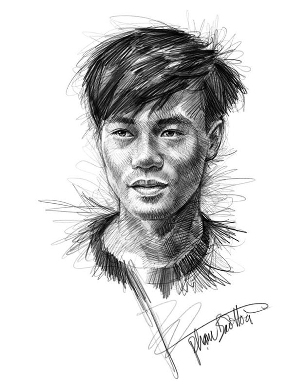 Ngắm loạt chân dung cực chất của U23 Việt Nam cùng thầy Park