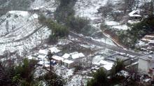 Sa Pa tuyết rơi dày đặc như châu Âu