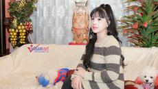 Tết vắng chồng của Lan Hương 'Em bé Hà Nội'