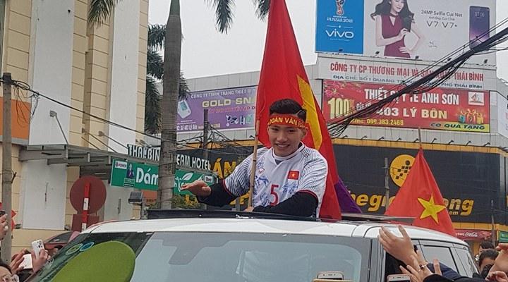 HLV Park Hang Seo, bóng đá Việt Nam, U23 Việt Nam, Thái Bình