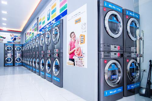 Khai trương cửa hàng giặt sấy tự động K-Laundro tại Hà Nội