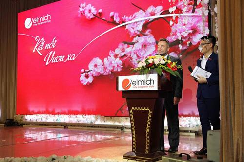 Elmich VN đón Đại sứ Séc dự Lễ tổng kết cuối năm