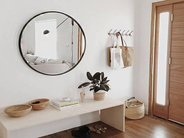 nhà đẹp, trang trí nhà, trang trí lối đi vào nhà
