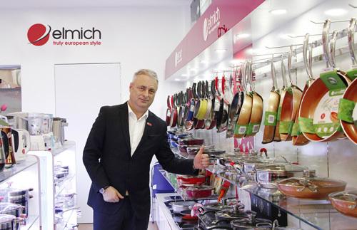 Đại diện Elmich Châu Âu thăm các nhà phân phối Hà Nội