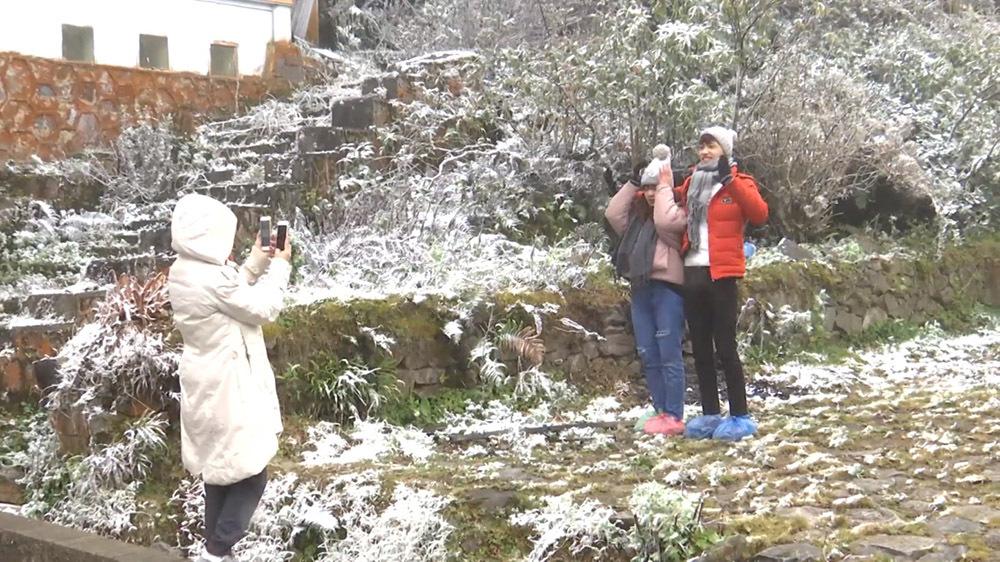 tuyết rơi, Sa Pa, Lào Cai