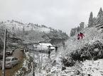 Lên Sa Pa, choáng ngợp cảnh tuyết rơi tuyệt đẹp