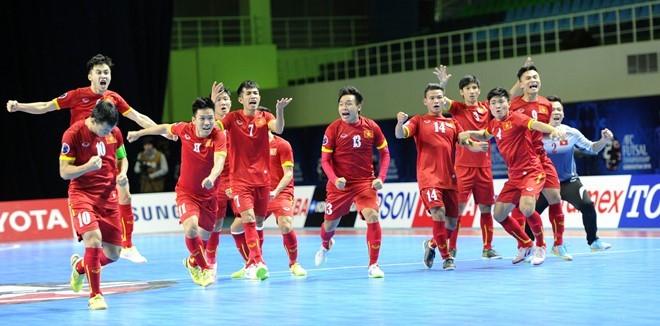 Futsal châu Á 2018, Futsal Việt Nam