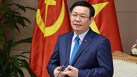 Phó Thủ tướng, Vương Đình Huệ, Cổ phần hoá