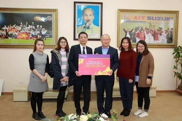 U23 ViệtNammới nhận được 1/4 tiền thưởng nóng