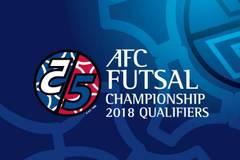 Lịch thi đấu đầy đủ giải vô địch Futsal châu Á 2018