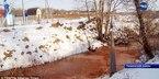 Dòng sông màu đỏ máu gây hoang mang tại Nga